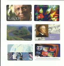 Telefonkarte Richard Wagner, Saarschleife Mettlach, Umweltschutz, Weihnachten