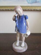 Bg Bing & Grondahl Copenhagen Denmark Porcelain Figurine 2246 Spilled Milk