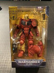 McFarlane Warhammer 40K Blood Angels Primaris Lieutenant Gold Label - FAST SHIP