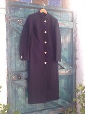 womens coat size M blue wool tailored evening business English Designer Wensum
