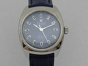 OMEGA Seamaster Cosmic Blue Dial Cal.671 Automatic Vintage Women's Watch 1960's