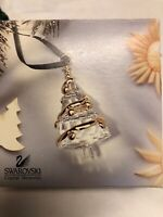 Swarovski Crystal Christmas Memories Ornament Christmas Tree Made In Austria