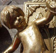 Vintage Brass Cherub Door Hardware Elements