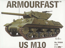 Armourfast 1/72 M10 Tank Destroyer (2 Kits in Box)