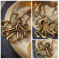 Steampunk Retro Pirates of the Caribbean  Animal  Octopus  Pendant CNecklace