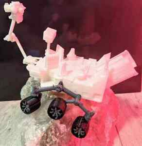 Curiosity Mars Rover 3D PLA printed model spacecraft Nasa 9 Inches (230mm)