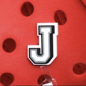 Letter J Crocs Charm