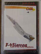 1/32 CAM Decal F-4 SIERRAS: Last of the Navy Phantoms F-4S VF-151 Vigilantes OOP