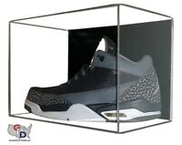 Shoe ACRYLIC DISPLAY CASE Wall Mount Small UV PROTECTION Basketball Football A