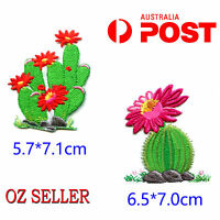 2Pcs Embroidered Motif Cloth Applique Iron On Patch Sew Clothing Decorations DIY