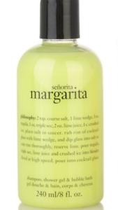 Philosophy Senorita Margarita 3 in 1 Body Wash Shampoo 8 oz NEW - 2 available