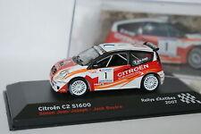 Ixo Presse 1/43 - Citroen C2 S1600 Rallye Antibes 2007