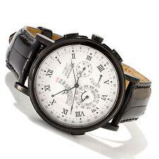Invicta 10915 Minute Repeater Perpetual Calendar Black Leather 44mm Watch