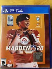Madden 20 For Sony PlayStation 4 Voted Best In Show 2019. Brand New/Sealed.