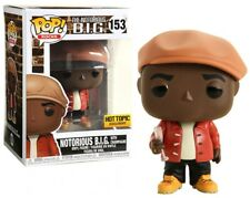 The Notorious B.I.G. Pop! Rocks #153 With Champagne Vinyl Hot topic Exclusive
