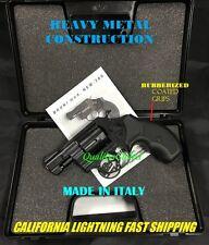 SALE BLACK ITALY METAL MOVIE PROP REPLICA .38 SNUB NOSE REVOLVER PISTOL GRIP GUN