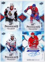 17-18 UD Ice Filip Chlapik /499 Rookie Premieres Senators Upper Deck 2017