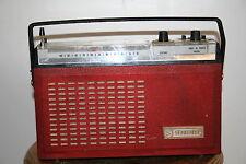 poste radio transistor design vintage années 50 Schneider cithare streamline