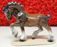 ♞ Hagen Renaker Horse Miniature Figurine Clydesdale Draft Horse