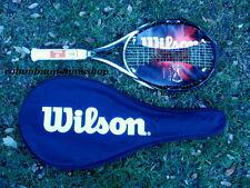 New Wilson K Surge racket 100 K Factor Surge Karophite 5/8 Adult strung racket