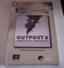 OUTPOST 2 gioco pc originale completo strategia ITA