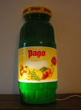 Belle APPLIQUE  Publicitaire  PAGO en forme de bouteille