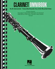 Clarinet Omnibook for B-flat Instruments Transcribed Exactly NEW 000242667