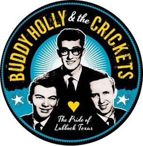 """Buddy Holly 1"""" Button Badge Crickets Rock n Roll legend Pop rockabilly Texas"""