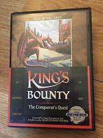 King's Bounty: The Conqueror's Quest Sega Genesis In Box Cib Game