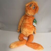 "Dr Seuss The Foot Book Orange Character Plush 20"" Stuffed Toy Kohls Cares - NEW"