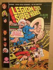 LA LEGION DES SUPER HEROS (Artima) - Album 1 : T1 et T2