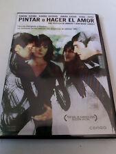 "DVD ""PINTAR O HACER EL AMOR"" COMO NUEVO ARNAUD & JEAN-MARIE LARRIEU SABINE AZEMA"