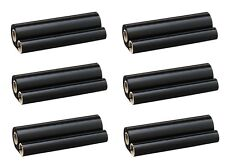 6 Stück Faxrollen f. Sharp FO-A450 650 660 UX-P100 110 200 UX-6CR FO-6CR