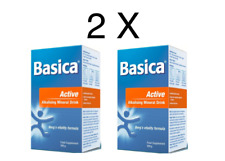 Basica Active E Alkalising Mineral Formula 300g x 2- Stock Clearing