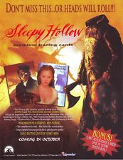 SLEEPY HOLLOW MASTER SET BY INKWORKS 1999 .