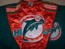 Mitchell & Ness  Dolphins reversible wool jacket 4xl retails  450$
