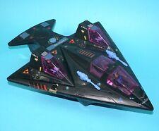 STARCOM SHADOWBAT & PARASITE (2X) & PILOTS 100% COMPLETE MATTEL COLECO WORKS!