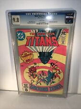 New Teen Titans #10 CGC 9.8 DC 2nd Full Appearance Deathstroke the Teminator
