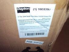 Dayton 10e039 Exhaust Fan Industrialcommercial Direct Drive 16x16 115230 V