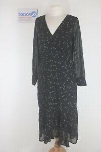 WG687D Mint Velvet Star Embroidered Midi Dress Size 12