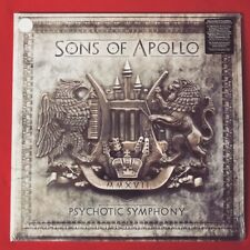 SONS OF APOLLO Psychotic Symphony WHITE 2Lp vinyl Mike Portnoy Dream Theater