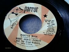 """BOBBY """"BORIS"""" PICKETT & THE CRYPT-KICKERS Monster Mash PROMO 45 w/Factory sleeve"""