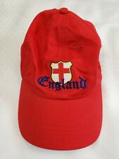 England Football 2006 World Cup Red Hat Adjustable Band Soccer