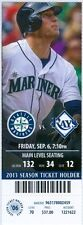 2013 Mariners vs Rays Ticket: Delmon Young & Raul Ibanez HRs