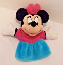 "10"" Plush Disney Minnie Mouse Hand Puppet"
