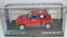 Team Slot 11806 Renault 5 Turbo 2 Street car Rouge
