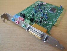 Creative Labs Sound BLASTER CT4810 PCI 128 Midi Game Port Soundkarte* s23