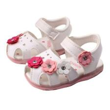 dd1cc5214 Kids Toddler Baby Girl Sandals Floral Party Princess Sandles Summer Beach  Shoes