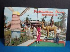 PONTCHARTRAIN BEACH POST CARD  GOOFY GOLF- NEW ORLEANS 1960s