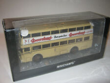 1:43 Büssing D2U With Open Rear Entry 439071085 Minichamps Boxed New 1 Of 504